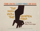 The Man with the Golden Arm - Theatrical movie poster (xs thumbnail)