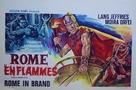 L'incendio di Roma - Belgian Movie Poster (xs thumbnail)