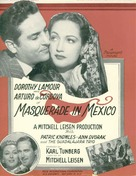 Masquerade in Mexico - Movie Poster (xs thumbnail)