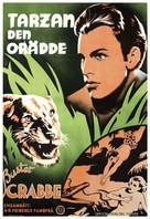 Tarzan the Fearless - Swedish Movie Poster (xs thumbnail)