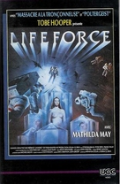 Lifeforce - French VHS movie cover (xs thumbnail)