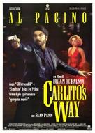 Carlito's Way - Italian Theatrical movie poster (xs thumbnail)