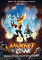 Ratchet and Clank - German Movie Poster (xs thumbnail)