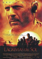 Tears Of The Sun - Spanish Movie Poster (xs thumbnail)