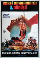 The Return of a Man Called Horse - Turkish Movie Poster (xs thumbnail)