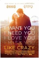 Like Crazy - British Movie Poster (xs thumbnail)