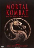 Mortal Kombat - Czech DVD cover (xs thumbnail)