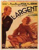 L'argent - French Movie Poster (xs thumbnail)