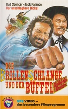 Si può fare... amigo - German VHS cover (xs thumbnail)