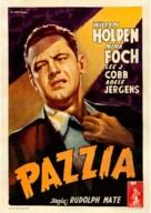 The Dark Past - Italian Movie Poster (xs thumbnail)
