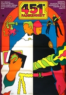 Fahrenheit 451 - Hungarian Movie Poster (xs thumbnail)