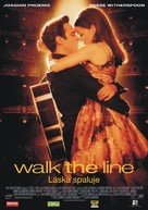 Walk the Line - Slovak Theatrical movie poster (xs thumbnail)