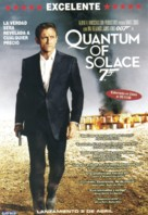 Quantum of Solace - Argentinian Video release poster (xs thumbnail)