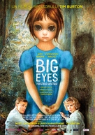 Big Eyes - Romanian Movie Poster (xs thumbnail)