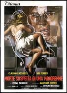 Morte sospetta di una minorenne - Italian Movie Poster (xs thumbnail)