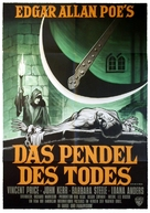 Pit and the Pendulum - German Movie Poster (xs thumbnail)
