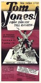 Tom Jones - Swedish Movie Poster (xs thumbnail)
