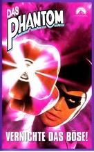 The Phantom - German VHS movie cover (xs thumbnail)