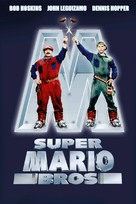Super Mario Bros. - Italian DVD movie cover (xs thumbnail)