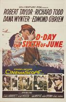 D-Day the Sixth of June - Movie Poster (xs thumbnail)