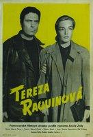Thèrése Raquin - Czech Movie Poster (xs thumbnail)