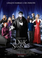 Dark Shadows - French Movie Poster (xs thumbnail)