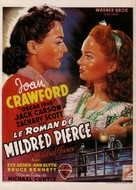 Mildred Pierce - Belgian Movie Poster (xs thumbnail)