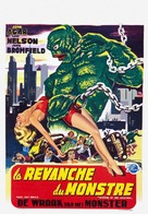 Revenge of the Creature - Belgian Theatrical movie poster (xs thumbnail)