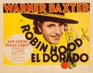 The Robin Hood of El Dorado - Movie Poster (xs thumbnail)