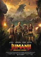 Jumanji: Welcome to the Jungle - Slovenian Movie Poster (xs thumbnail)