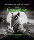 Frankenweenie - Video release movie poster (xs thumbnail)