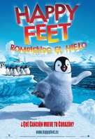 Happy Feet - Spanish Movie Poster (xs thumbnail)