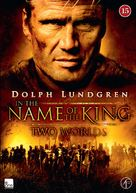 In the Name of the King: Two Worlds - Danish DVD movie cover (xs thumbnail)