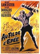 The Devil's Disciple - French Movie Poster (xs thumbnail)