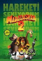 Madagascar: Escape 2 Africa - Turkish Movie Poster (xs thumbnail)