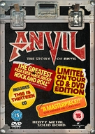 Anvil! The Story of Anvil - British DVD cover (xs thumbnail)