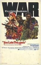 Too Late the Hero - Movie Poster (xs thumbnail)