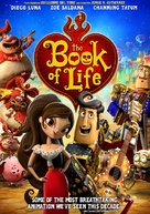 The Book of Life - DVD movie cover (xs thumbnail)