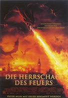 Reign of Fire - German Movie Poster (xs thumbnail)