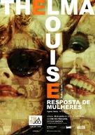 Thelma And Louise - Brazilian Movie Poster (xs thumbnail)