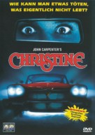 Christine - German DVD movie cover (xs thumbnail)