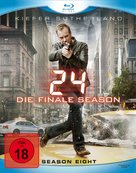 """24"" - German Blu-Ray movie cover (xs thumbnail)"