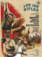 100 Rifles - Spanish Movie Poster (xs thumbnail)