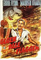Against All Flags - German Movie Poster (xs thumbnail)