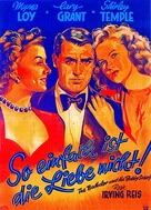 The Bachelor and the Bobby-Soxer - German Movie Poster (xs thumbnail)