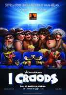 The Croods - Italian Movie Poster (xs thumbnail)