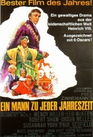 A Man for All Seasons - German Movie Poster (xs thumbnail)