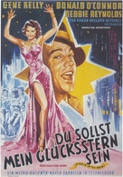 Singin' in the Rain - German Movie Poster (xs thumbnail)