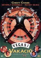 Vegas Vacation - Hungarian DVD movie cover (xs thumbnail)