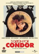 Three Days of the Condor - Danish Movie Cover (xs thumbnail)